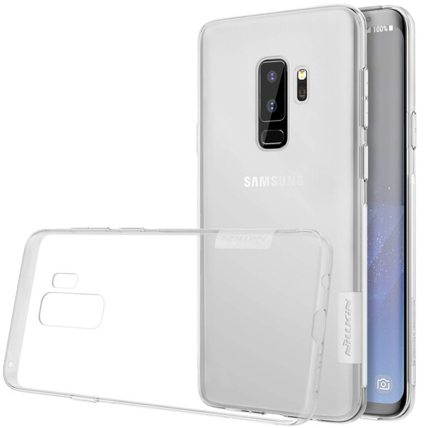 TPU чехол Nillkin Nature Series White для Samsung Galaxy S9 Plus