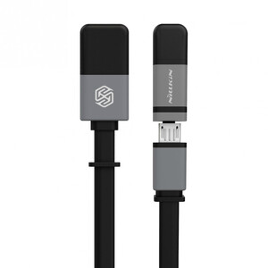 Купить Кабель Nillkin Plus II Micro-USB + Lightning to USB Black