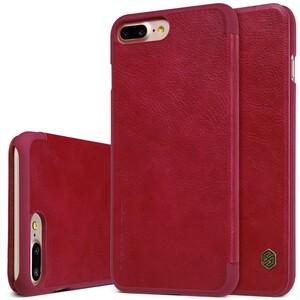 Купить Кожаный чехол-книжка Nillkin Qin Red для iPhone 7 Plus/8 Plus