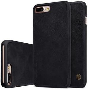 Купить Кожаный чехол-книжка Nillkin Qin Black для iPhone 7 Plus