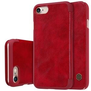 Купить Кожаный чехол-книжка Nillkin Qin Red для iPhone 7