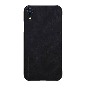 Купить Кожаный чехол-книжка Nillkin Qin Series Black для iPhone XR