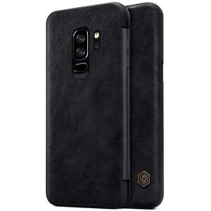 Купить Кожаный чехол-книжка Nillkin Qin Series Black для Samsung Galaxy S9 Plus