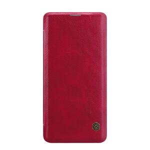 Купить Кожаный чехол-книжка Nillkin Qin Series Red для Samsung Galaxy S10