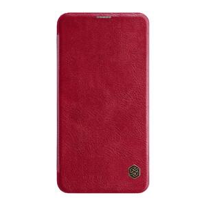 Купить Кожаный чехол-книжка Nillkin Qin Series Red для Samsung Galaxy S10 Lite
