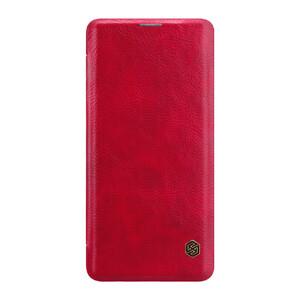 Купить Кожаный чехол-книжка Nillkin Qin Series Red для Samsung Galaxy S10 Plus