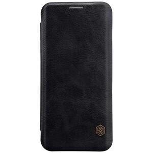 Купить Кожаный чехол-книжка Nillkin Qin Black для Samsung Galaxy S8