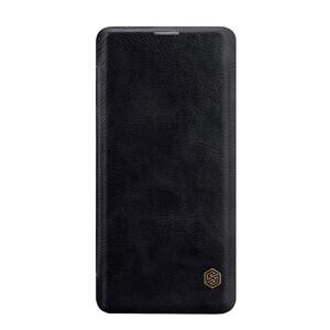 Купить Кожаный чехол-книжка Nillkin Qin Series Black для Samsung Galaxy S10