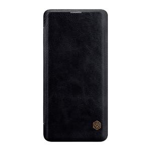 Купить Кожаный чехол-книжка Nillkin Qin Series Black для Samsung Galaxy S10 Plus