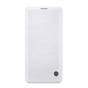 Купить Кожаный чехол-книжка Nillkin Qin Series White для Samsung Galaxy S10