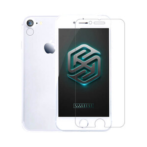 Купить Передняя пленка + пленка на камеру Nillkin Super Crystal Anti-Fingerprint Whole Set для iPhone 7 | 8 | SE 2020