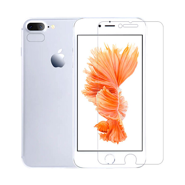 Передняя пленка + пленка на камеру Nillkin Super Crystal Anti-Fingerprint Whole Set для iPhone 7 Plus | 8 Plus