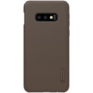 Купить Защитный чехол Nillkin Super Frosted Shield Matte Brown для Samsung Galaxy S10 Lite