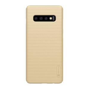 Купить Чехол Nillkin Super Frosted Shield Matte Gold для Samsung Galaxy S10