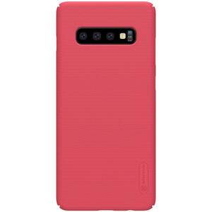 Купить Чехол Nillkin Super Frosted Shield Matte Red для Samsung Galaxy S10 Plus