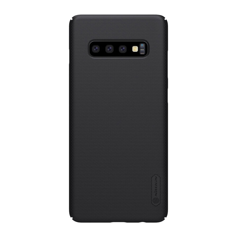 Купить Чехол Nillkin Super Frosted Shield Matte Black для Samsung Galaxy S10