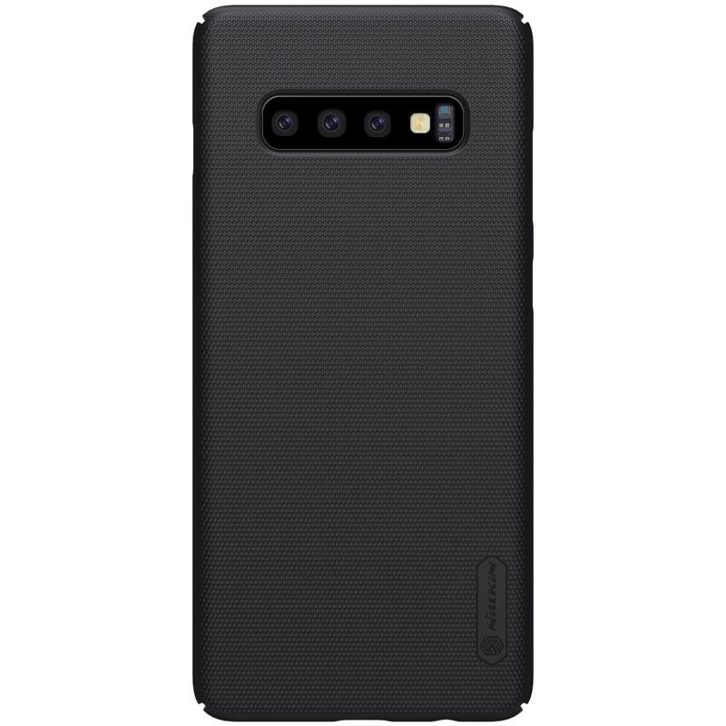Купить Чехол Nillkin Super Frosted Shield Matte Black для Samsung Galaxy S10 Plus