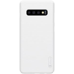 Купить Чехол Nillkin Super Frosted Shield Matte White для Samsung Galaxy S10 Plus