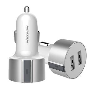 Купить Автозарядка Nillkin Vigor Dual Port USB Silver