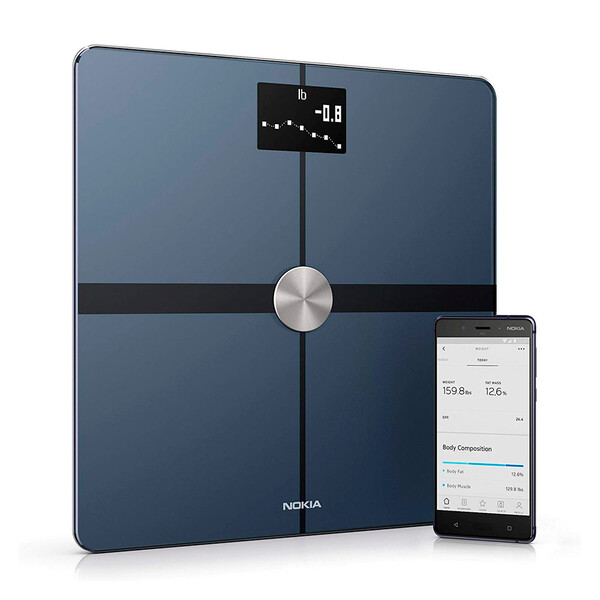 Умные весы Nokia (Withings) Body+ Composition Wi-Fi Scale Black