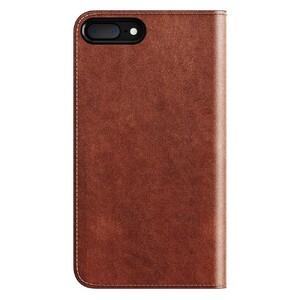Купить Кожаный флип-чехол Nomad Leather Folio Rustic Brown для iPhone 7 Plus/8 Plus