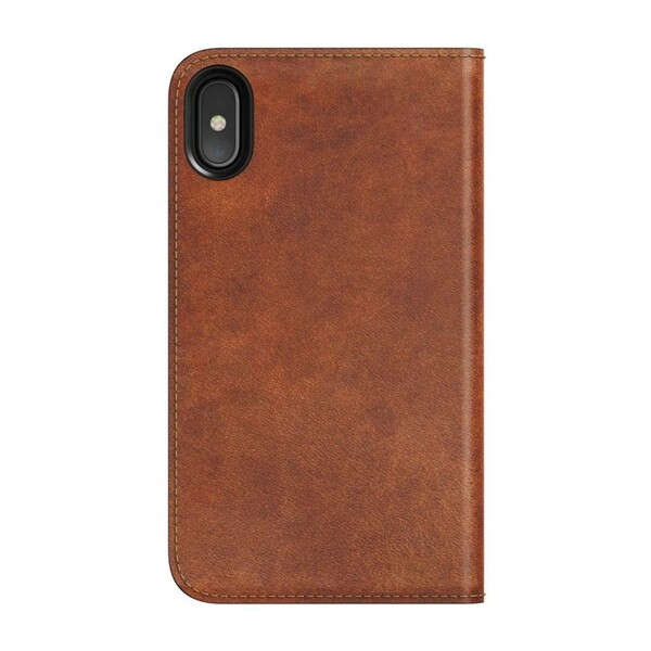 Кожаный чехол-книжка Nomad Leather Folio Rustic Brown для iPhone X   XS