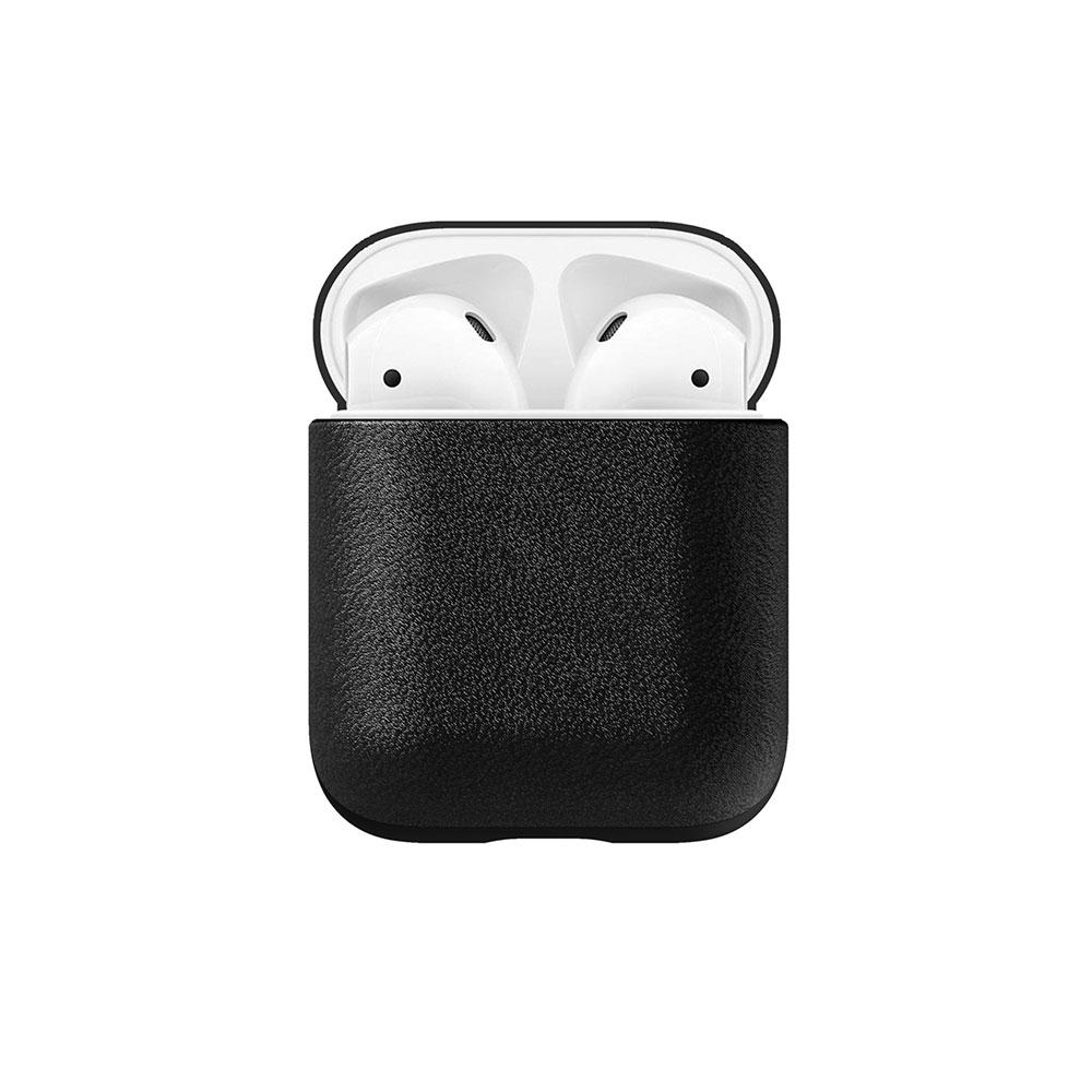 Купить Кожаный чехол Nomad Rugged Case Black для Apple AirPods