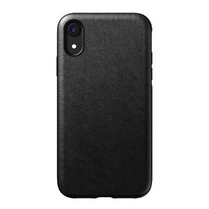 Купить Кожаный чехол Nomad Rugged Case Black для iPhone XR