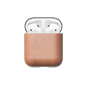 Купить Кожаный чехол Nomad Rugged Case Natural для Apple AirPods