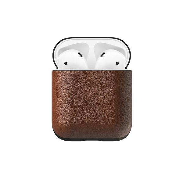 Кожаный чехол Nomad Rugged Case Rustic Brown для Apple AirPods