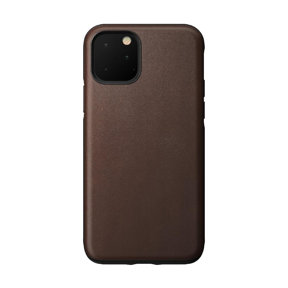 Купить Кожаный чехол Nomad Rugged Case Rustic Brown для iPhone 11 Pro