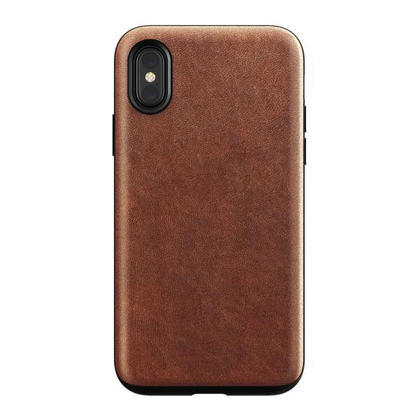 Кожаный чехол Nomad Rugged Case Rustic Brown для iPhone X   XS