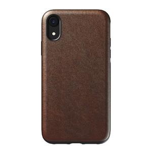 Купить Кожаный чехол Nomad Rugged Case Rustic Brown для iPhone XR