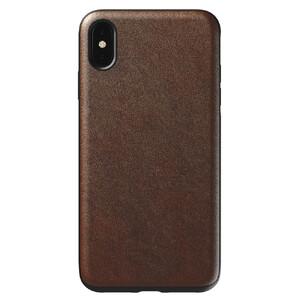 Купить Кожаный чехол Nomad Rugged Case Rustic Brown для iPhone XS Max