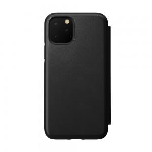 Купить Кожаный чехол-книжка Nomad Rugged Folio Black для iPhone 11 Pro