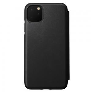 Купить Кожаный чехол-книжка Nomad Rugged Folio Black для iPhone 11 Pro Max