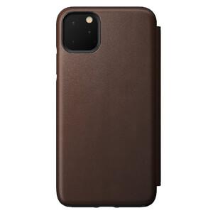 Купить Кожаный чехол-книжка Nomad Rugged Folio Rustic Brown для iPhone 11 Pro Max