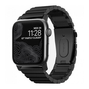 Купить Ремешок Nomad Titanium Band Black для Apple Watch 42mm/44mm Series 5/4/3/2/1