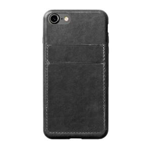Купить Кожаный чехол Nomad Wallet Case Slate Gray для iPhone 7/8 (Уценка)