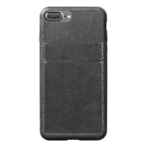 Купить Кожаный чехол Nomad Wallet Case Slate Gray для iPhone 7 Plus/8 Plus (Уценка)