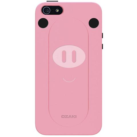 Чехол Ozaki O!coat FaaGaa Pig для iPhone 5/5S/SE