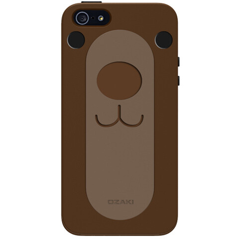 Чехол Ozaki O!coat FaaGaa Bear для iPhone 5/5S/SE