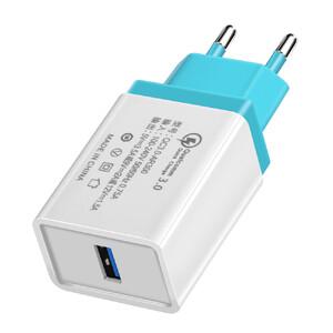 Купить Зарядное устройство Olaf Qualcomm Quick Charge 3.0 Green