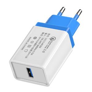 Купить Зарядное устройство Olaf Qualcomm Quick Charge 3.0 Navy Blue