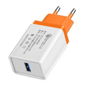 Купить Зарядное устройство oneLounge Olaf Qualcomm Quick Charge 3.0 Orange