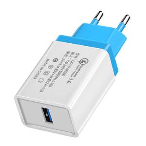 Купить Зарядное устройство Olaf Qualcomm Quick Charge 3.0 Sky Blue