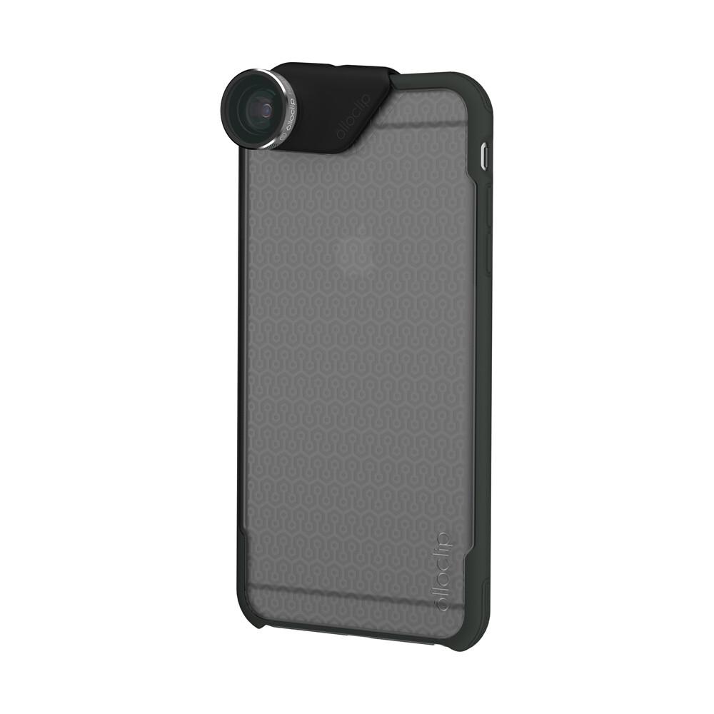 Чехол Olloclip Ollocase Matte Clear Dark Gray для iPhone 6 Plus/6s Plus