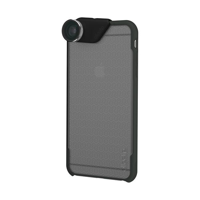 Чехол Olloclip Ollocase Matte Clear Dark Gray для iPhone 6/6s Plus