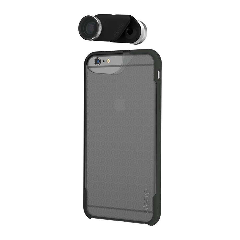 Объектив + 2 чехла Olloclip 4-in-1 для iPhone 6/6s/6 Plus/6s Plus