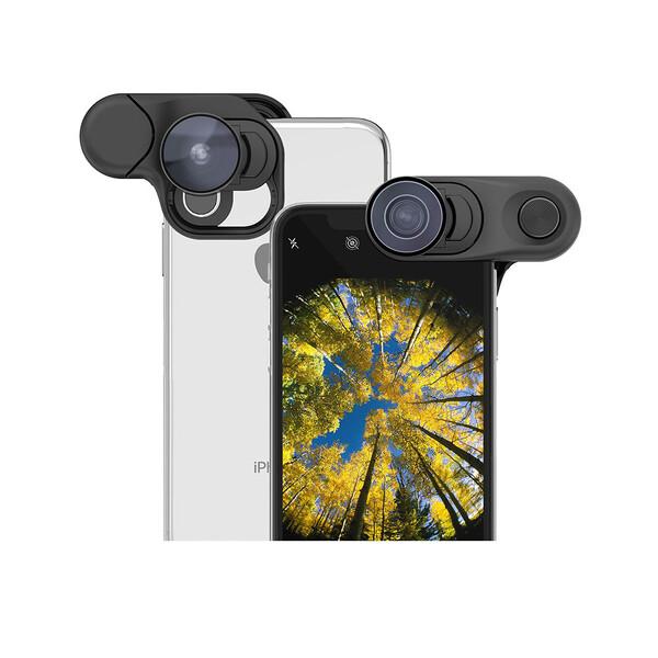 Объектив Olloclip Fisheye + Super-Wide + Macro Essential Lenses для iPhone XS | X